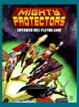 Mighty Protectors RPG Cover Art Poster (18 x 24) by JeffDee