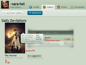Fast deviation info by sara-hel