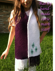 Rarity Hand-Made Scarf! (FOR SALE) by InkRose98
