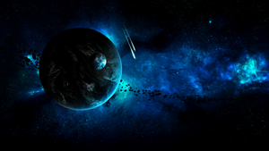 Space Wallpaper by Hardii