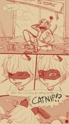 Miraculous LadyBug Comics-LB's First Nosebleed pg1 by redEIV