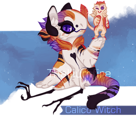 Calico Witch by NebNomMothership