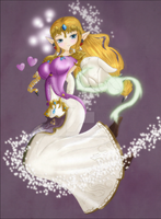 :Collaboration: Princess Zelda by Lady-Zelda-of-Hyrule