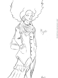 Myosha After Concert (Draw It Again) by ChrisMcClary