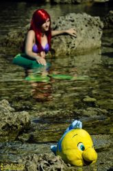 Me and Flounder by Laurelin-CosPlay