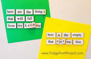 The Daily Magnet #285 by FridgePoetProject