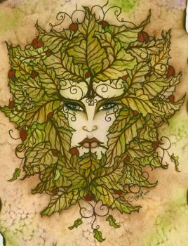 GreenWoman by angelsg33