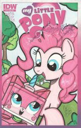 Pinkie meet Unikitty the return by PonyGoddess