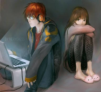 Mystic Messenger 707 by MeryChess
