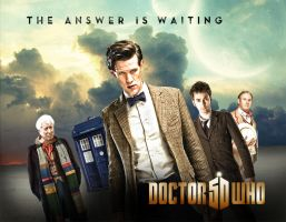 DOCTOR WHO POSTER by Umbridge1986