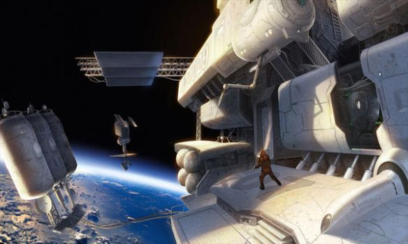 In Space by Concept-Art-House