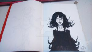 Ghost Girl by PinkSakuraFlower1