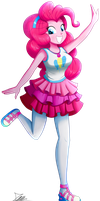 .:Pinkie Pie - EqG Style:. (Commission) by The-Butcher-X