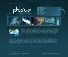 Webdesign - 'Nexxus' by CybertronicStudios