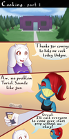 Cooking with Toriel and Undyne 1/2 by Mckodem