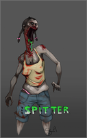 L4D2 - The Spitter by SuperKusoKao