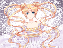 Princess Serenity.Sailor Moon by HellyOK