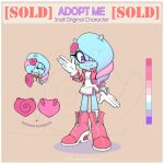 Sonic Adopt. Snail  [CLOSED] by 13VOin