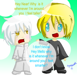 Mello n Near - Why is it...? by AquaKacheek