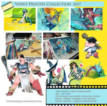 Video Process collection 2017 by EnriqueFernandez