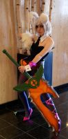 Battle Bunny Riven Anime North 2014 #2 by Lightning--Baron