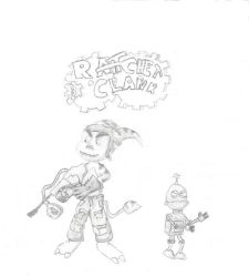 Ratchet and CLank by jamez88