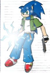 CHAOS - Sonic by Spiner Storm by MoFoers