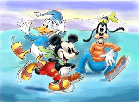 Mickey Mouse, Donald Duck, Goofy by zdrer456