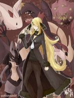Pokemon Platinum - Cynthia