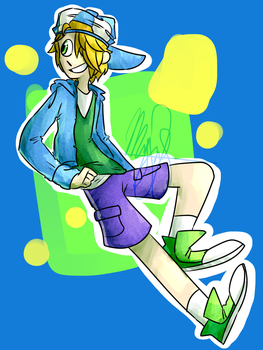 -Prize- Cool Dude [3/6] by icecreampizzer