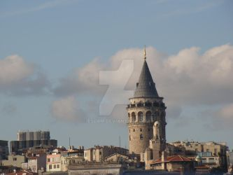 Galata Tower in Istanbul by Eslam