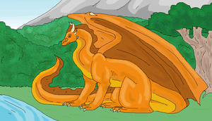A Dragon at the Vale by Kidrylm-writer