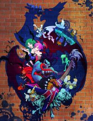 Funky Darkstalkers by SS-Cheong