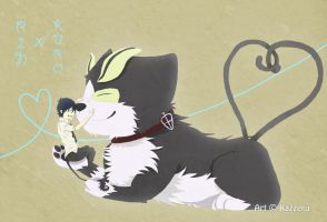 Ao No Exorcist: RinxKuro. wut. by Kazzeru