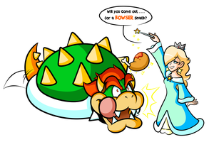 Commission - Rosie's Bowser Bait by JamesmanTheRegenold