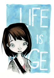 Life Is Strange (left) by willymerry