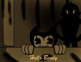 Hello Neighbor, I'm Bendy by RichardtheDarkBoy29
