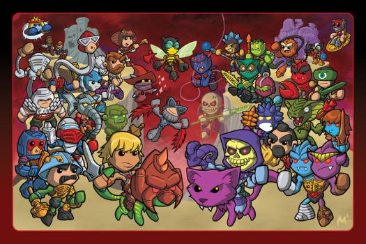 Masters of the Universe by MattMoylan