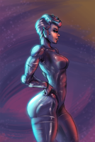 Steelheart from Silver Hawks by cutesexyrobutts