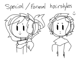Special Hairstyles by TheCatQueen10