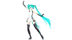 MMD DT Racing Miku 2011 preview by willianbrasil