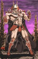 Shao Kahn in the Outworld by monx-art