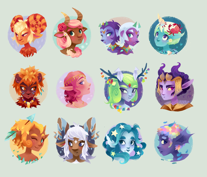 Horoscope by Wendywee