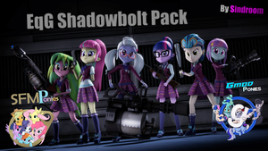 [SFM/Gmod] EqG Shadowbolts Pack v1.2 by Sindroom