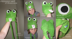 KAWAII Froggy Hat by RoseSagae