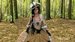 Lady Lopez a walk in the forest  by Anena studios by ANenaStudios