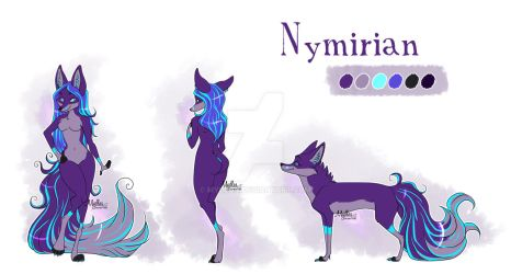 Nymirian's reference sheet by mydlas