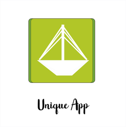 Unique  Icon App by SearchProjects