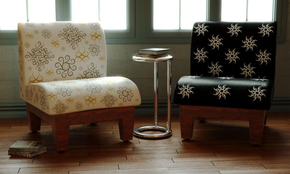 Free Slipper Chair by LuxXeon