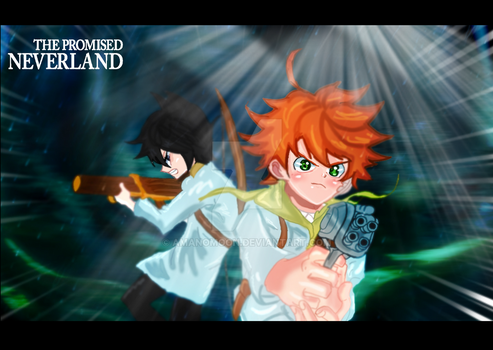 The Promised Neverland Emma CHAPTER 66 DEMON ! by Amanomoon